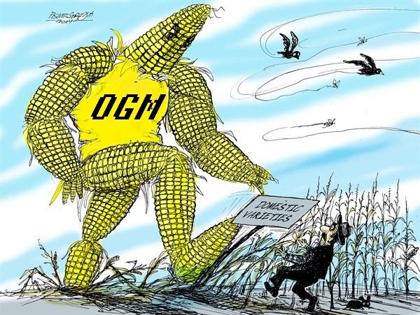 karikatur für tribüne- monster